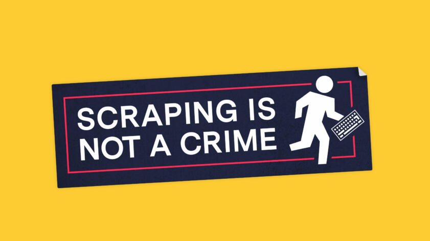 Web Scraping Is Not A Crime